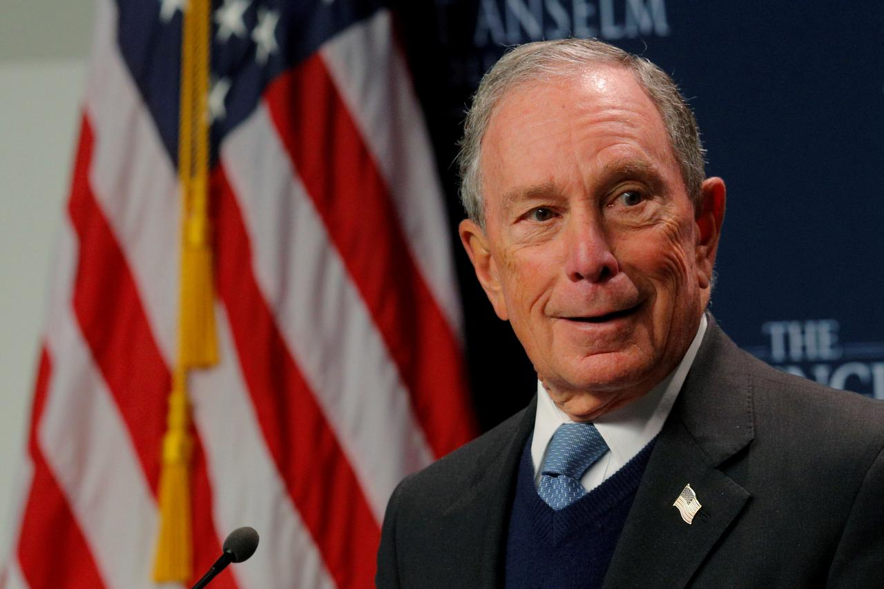 Bloomberg to file  to place his name on ballot in Texas