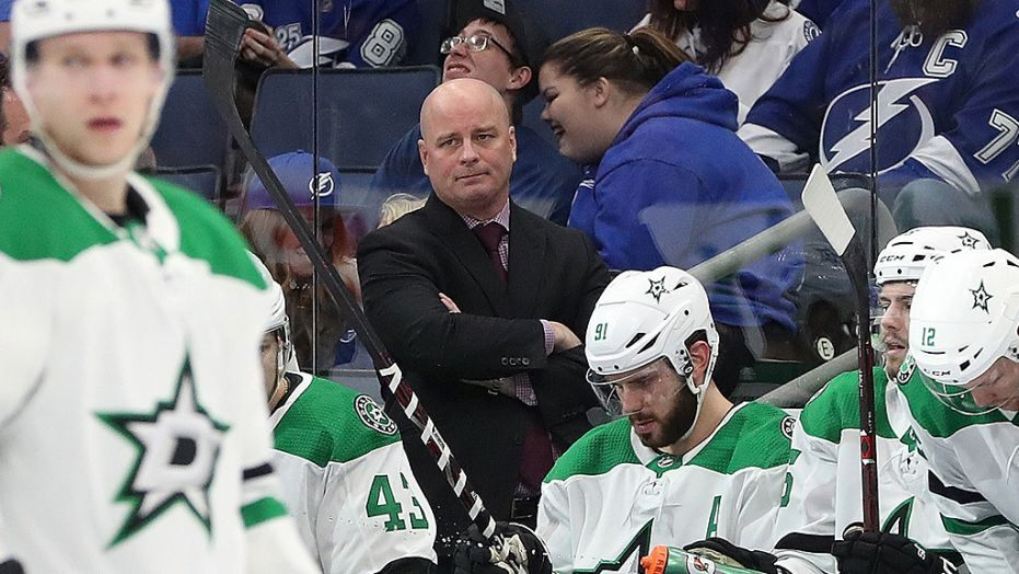 Dallas-Stars fire coach Jim Montgomery