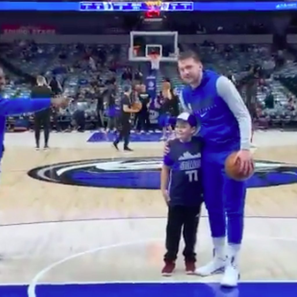 Luka-Doncic-To-Give-Autographed-Shoes-to-A-Young-Fan